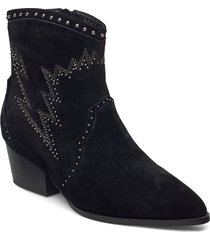 boot 5 cm shoes boots ankle boots ankle boot - heel svart sofie schnoor