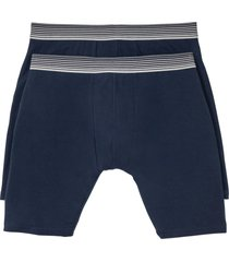 boxer lunghi (pacco da 2) (blu) - bpc bonprix collection