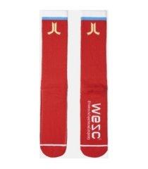 wesc logo single pack conspiracy socks