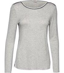 night-t-shirts top grå esprit bodywear women