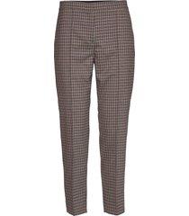 hariette pantalon met rechte pijpen bruin dagmar