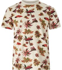 t-shirt med tryckt mönster
