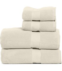 nordstrom 4-piece hydrocotton bath towel & hand towel set in beige oatmeal at nordstrom