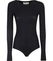 maison margiela plain fit bodysuit
