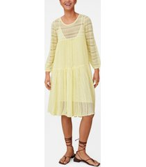 mango women's knit openwork sweater dress