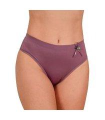 calcinha cintura alta elástico barra 25 embutido - clamf009-satin-gg nude