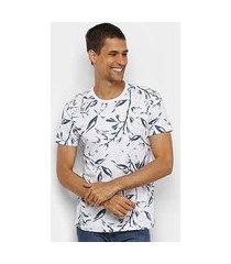 camiseta all free folhagens masculina