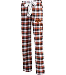 concepts sport women's oklahoma state cowboys piedmont flannel pajama pants