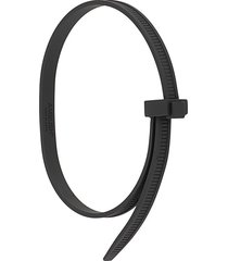 ambush ss zip tie bracelet - black