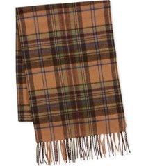 polo ralph lauren men's greenwich plaid scarf