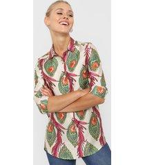 camisa natural asterisco atlanta