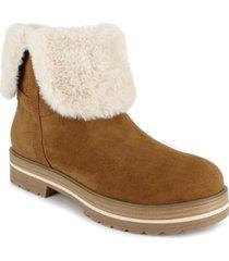 esprit nicolette cuff booties women's shoes
