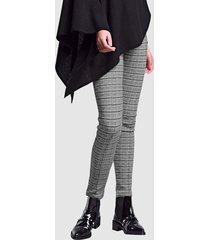 legging alba moda zwart::offwhite