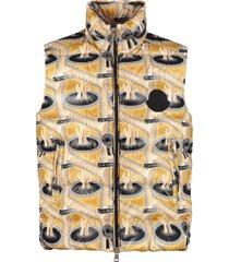 moncler parker full zip field vest