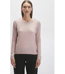 maglione in lana e cachemire