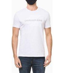 camiseta ckj mc embossed - branco - g