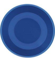 conjunto de 6 pratos fundos 20,5cm unni blue - multicolorido - dafiti