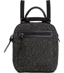 the sak loyola crochet convertible small backpack