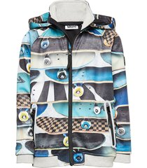 cloudy outerwear softshells softshell jackets multi/patroon molo