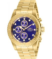 reloj invicta 28682 dorado para hombres
