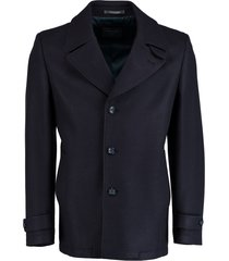 bos bright blue wollen jas donkerblauw 18301sp10sb/290 navy
