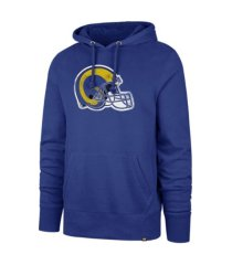 '47 brand los angeles rams men's throwback headline hoodie