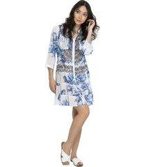 vestido chemise 101 resort wear