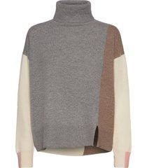 layla rollneck knit turtleneck coltrui grijs mos mosh