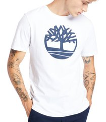 t-shirt korte mouw timberland ss k-r brand tree tee