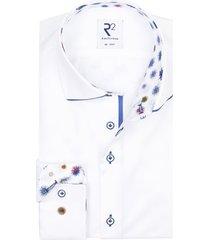 r2 shirt mouwlengte 7 wit