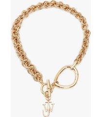 j.w. anderson oversized link chain choker