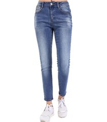 jeans pitillo focalizado nicopoly