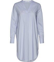 hamilla vn dress 10451 kort klänning blå samsøe samsøe