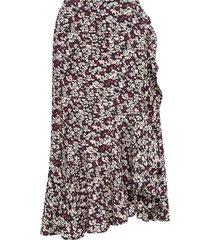 floral-gedrukte rok