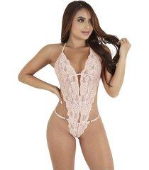body catsuits encaje lencería sensual - bésame-palo de rosa