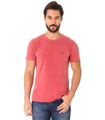 camiseta opera rock t-shirt vermelho stone - vermelho - masculino - algodã£o - dafiti