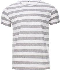 camiseta rayas grises
