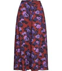 sharlene skirt knälång kjol brun peppercorn