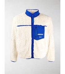ambush logo-print fleece jacket