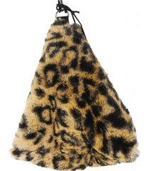 cartera piramide leopardo mailea