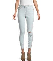 rag & bone women's nina high-rise skinny jeans - blue - size 28 (6)