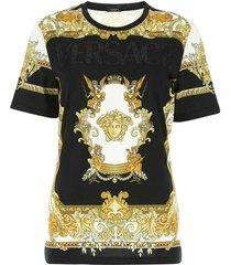 baroque printing crew neck t-shirt