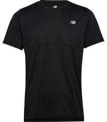 accelerate ss t-shirts short-sleeved svart new balance