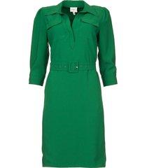jurk met ceintuur dresia  groen