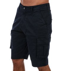 mens relaxed cargo shorts