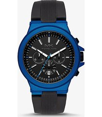 orologio dylan oversize blu con cinturino in silicone