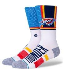 stance men's oklahoma city thunder shortcut 2 crew socks