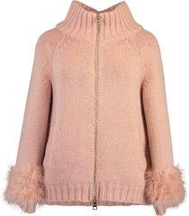 resort strina wool knit cape