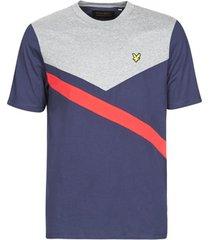 t-shirt korte mouw lyle scott archive diagonal t