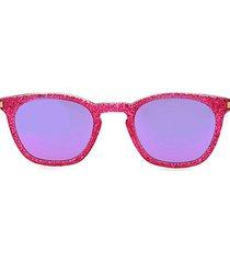 49mm glitter pantos sunglasses
